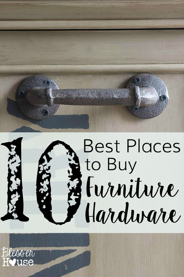 10 Best Places To Buy Furniture Hardware