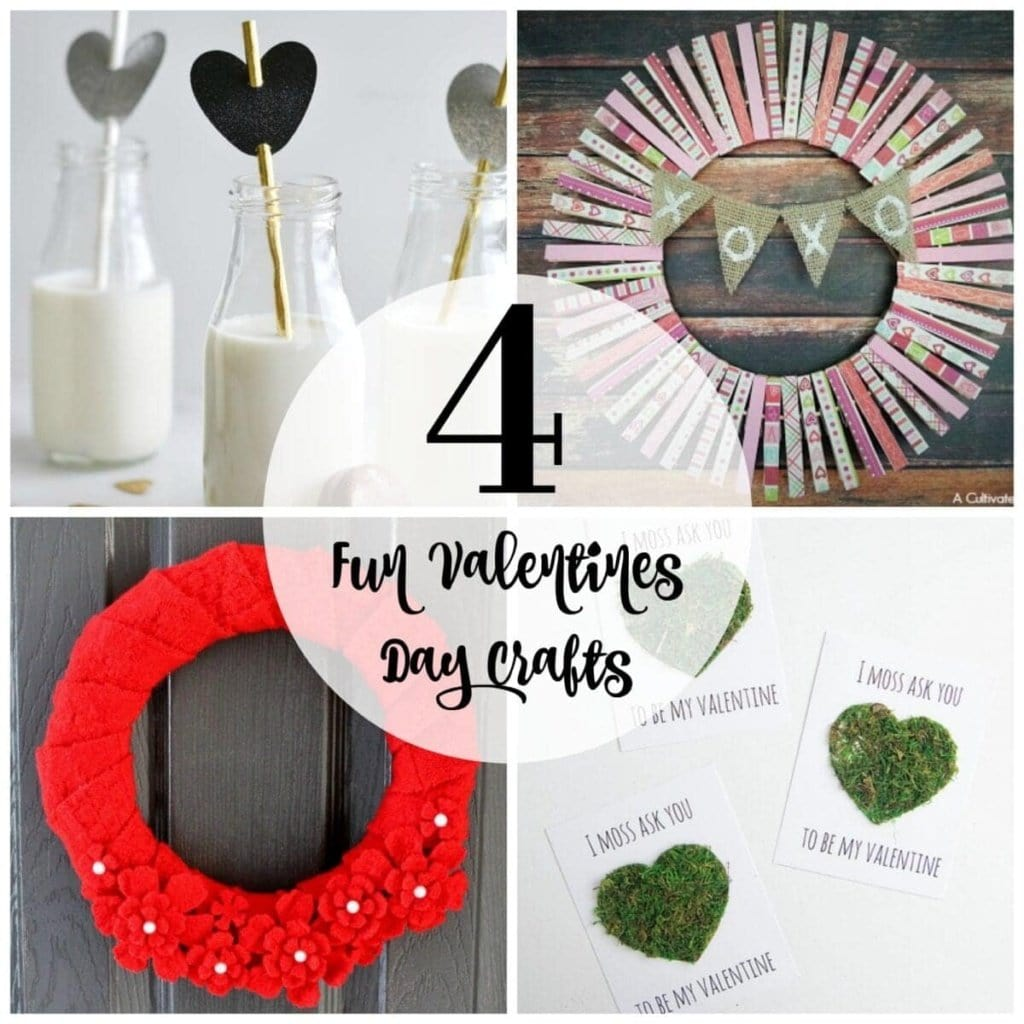 4 Fun Valentine's Day Crafts + BWT #14 | blesserhouse.com
