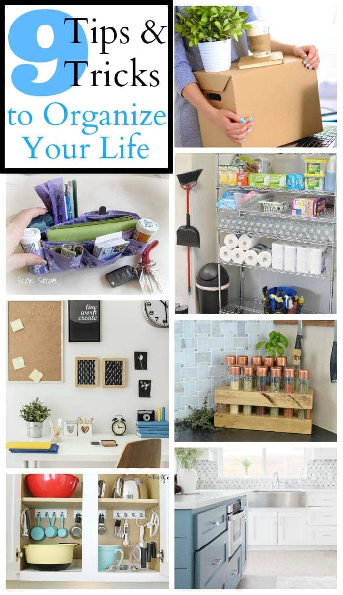 9 Tips and Tricks to Organize Your Life | blesserhouse.com