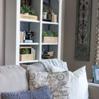 DIY Reclaimed Crates + Bookcase Makeover