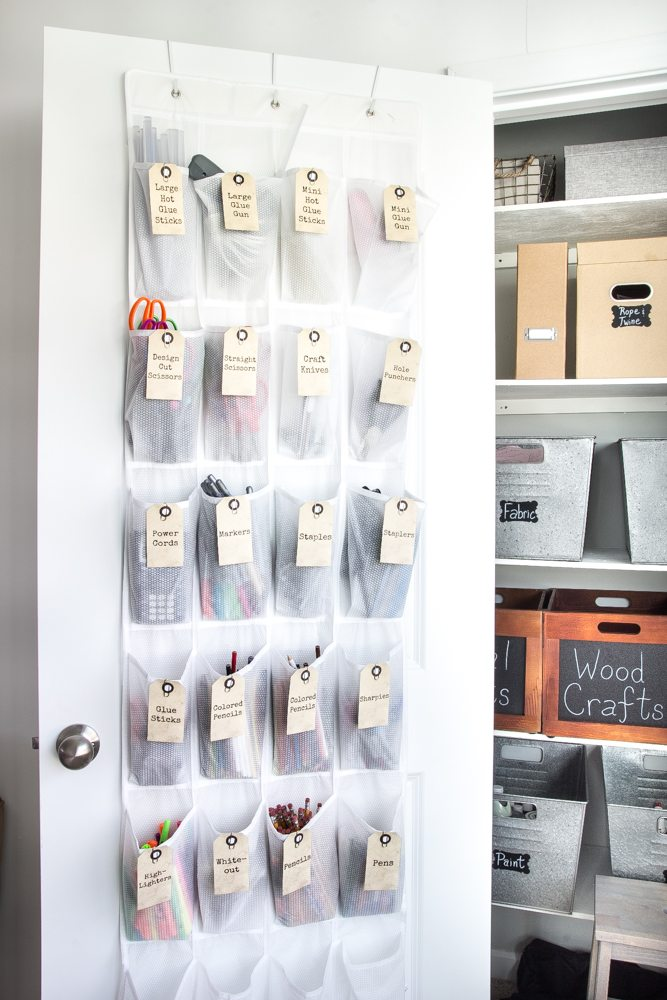 Lovely Craft Closet Organization Ideas Part - 7: How To Organize A Craft Closet Like A Rockstar | Blesserhouse.com