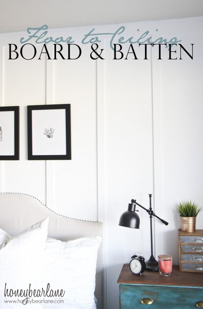 Diy Planked Board And Batten Accent Wall Part 1