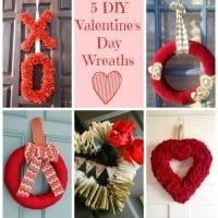 5 Valentine's Day Wreaths + BWT #15