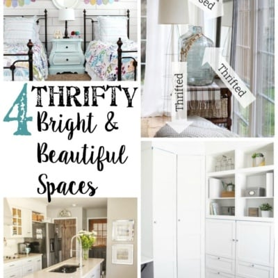 4 Thrifty Bright & Beautiful Spaces + BWT #16