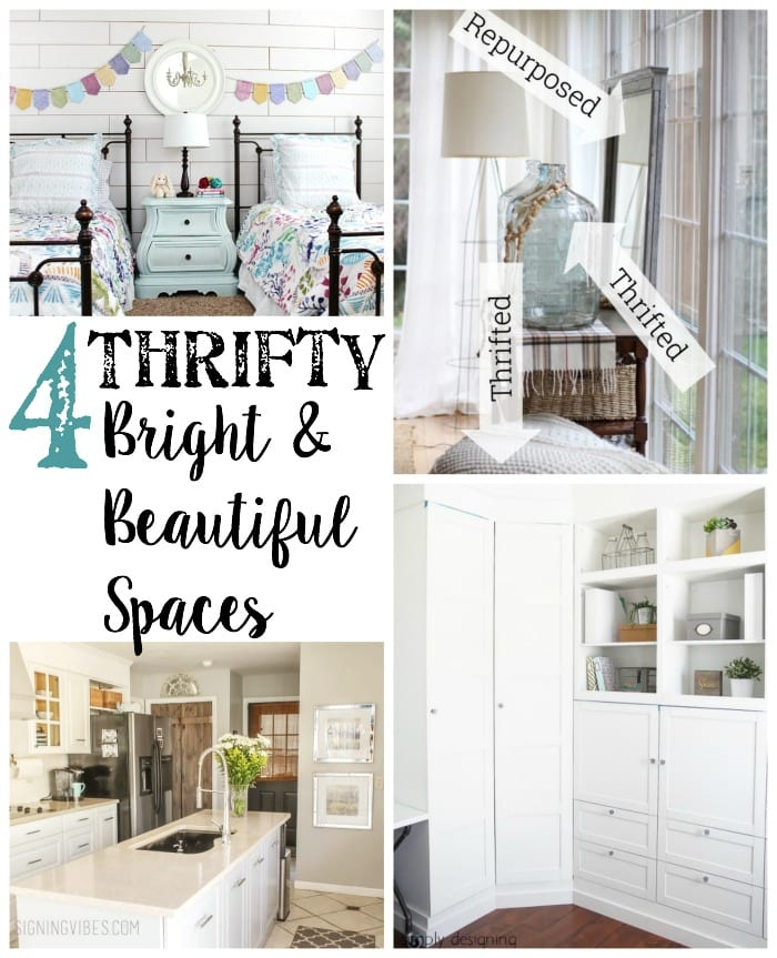 4 Thrifty Bright and Beautiful Spaces + BWT #16 | blesserhouse.com