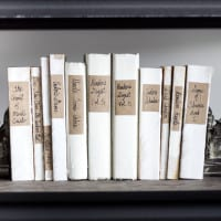 DIY Restoration Hardware French Mute Books