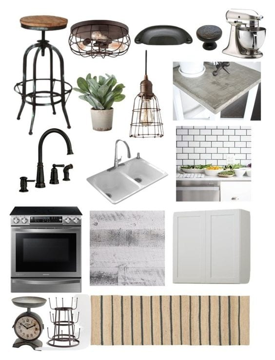 Industrial Farmhouse Kitchen Makeover Plans | blesserhouse.com - My dream kitchen!
