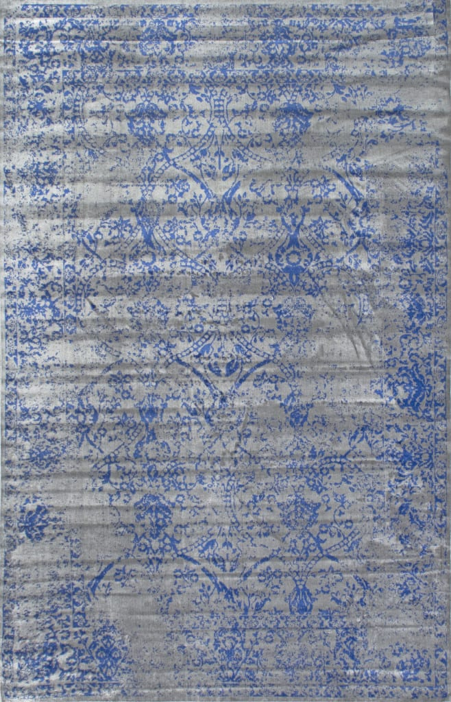Favorite Budget Friendly Blue Vintage Rugs   blesserhouse.com