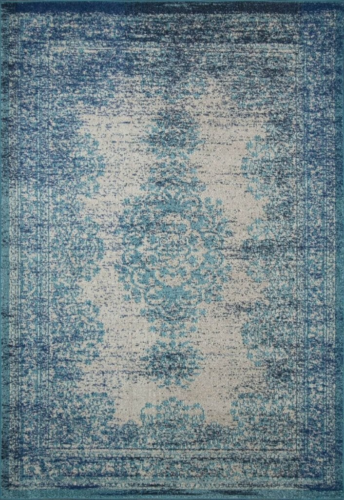 Top Favorite Budget Friendly Blue Vintage Rugs - Bless'er House BN35