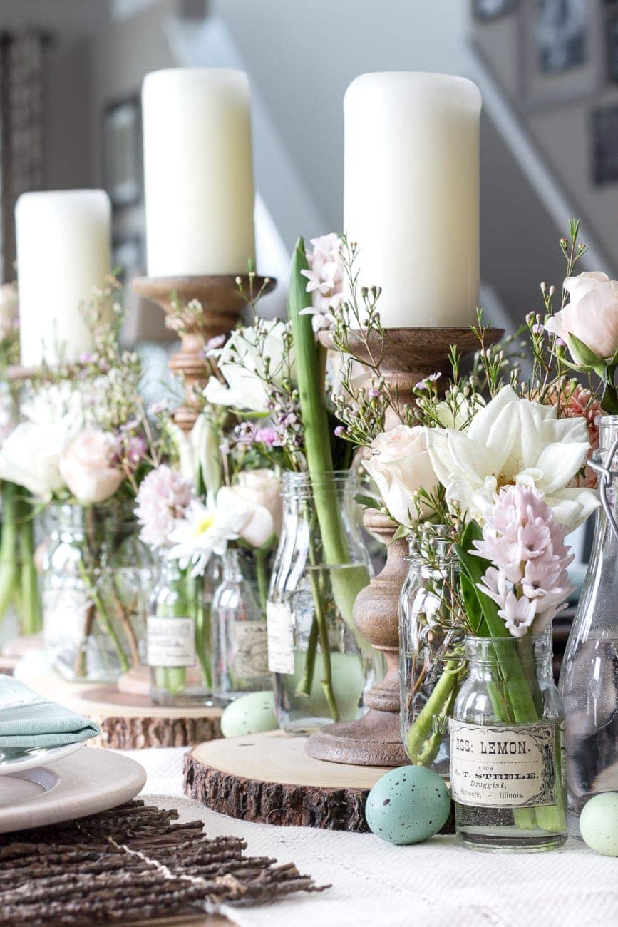 Easter brunch tablescape bless 39 er house for Tablescape decor