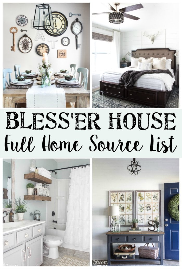 Shop the house bless39er house for Bless home furniture outlet