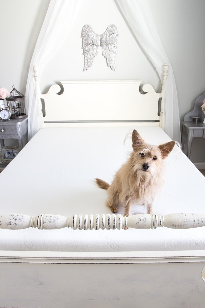 We Got a Mattress Online and This is What Happened | blesserhouse.com - A very honest review of the Tuft & Needle mattress.