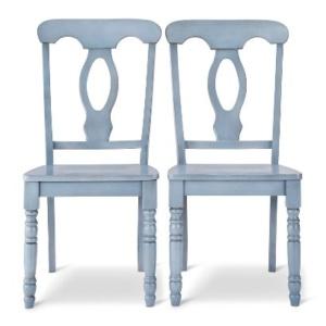 Blue Napoleon Chairs