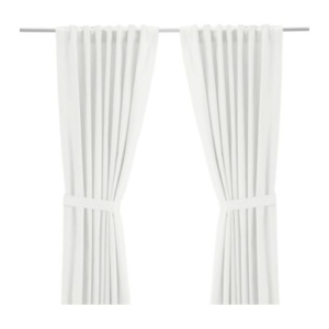 White Cotton Curtains