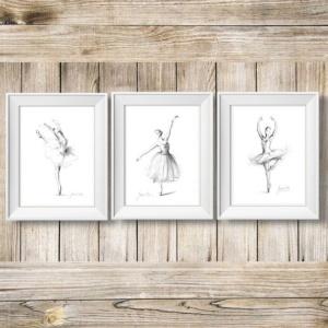 Ballerina Sketch Art