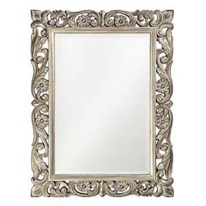 Metallic Scroll Mirror