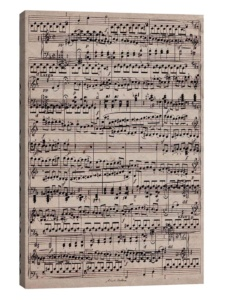 Oversized Sheet Music