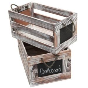 Chalkboard Crates