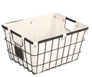 Wire Chalkboard Basket