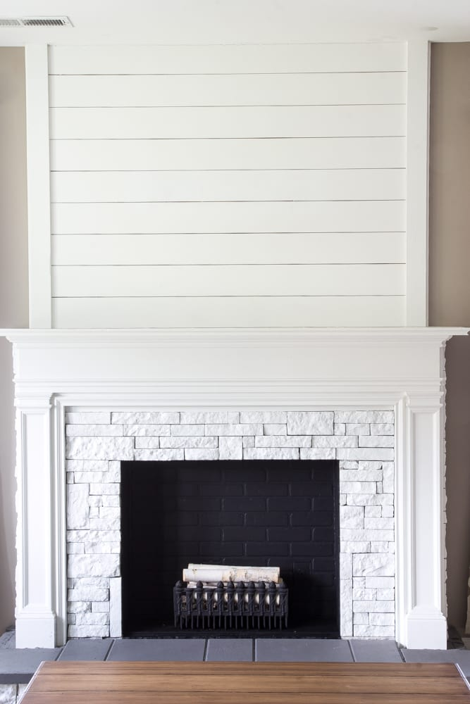 Diy Faux Fireplace Updated Bless 39 Er House