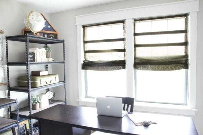 Diy Burlap Roman Shades From Blinds Bless Er House