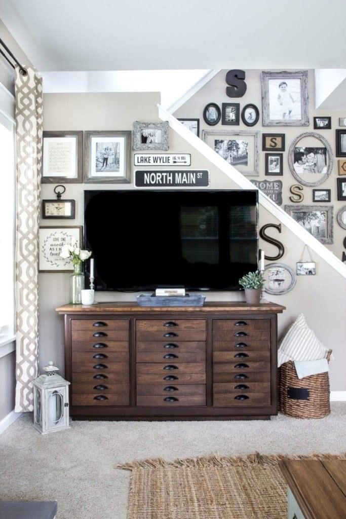 Decorating Around A Tv Blesserhouse