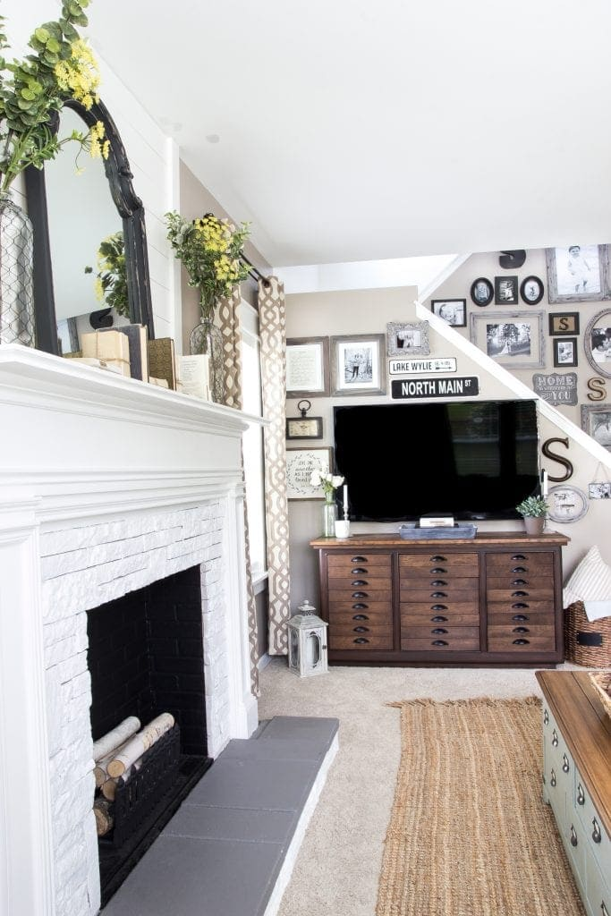 How To Decorate Around A Fireplace. Good Built In Bookcases Around
