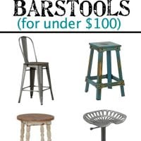 16 Modern Farmhouse Barstools for Under $100