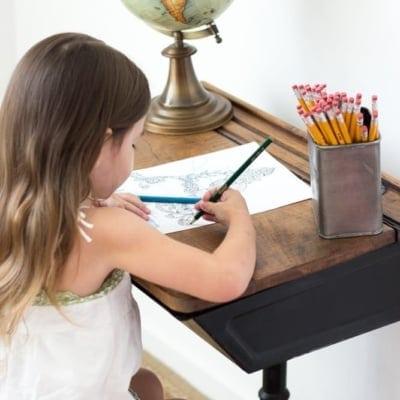 Back to School Style Guide – Schoolhouse Desk Homework Station