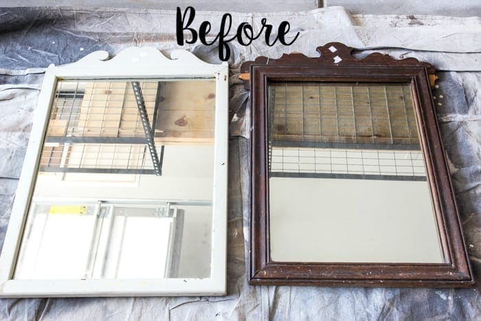 Repurposed Mirror Picture Frames - Bless\'er House