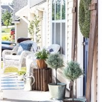 Summer Porch and Yard Progress