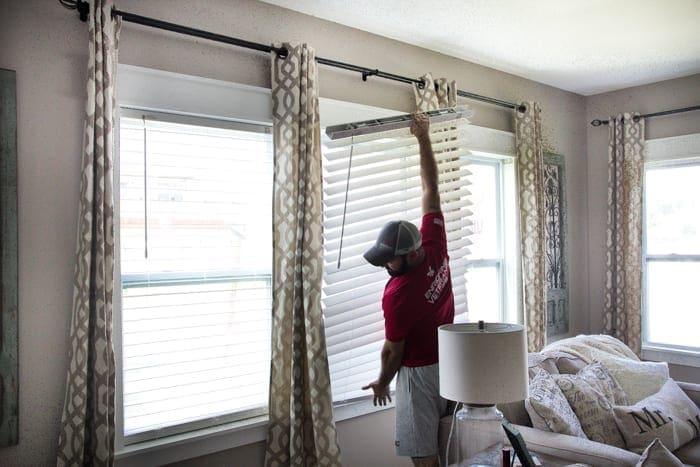 My Favorite Window Decor Combination Blesser House - Craftsman window treatments