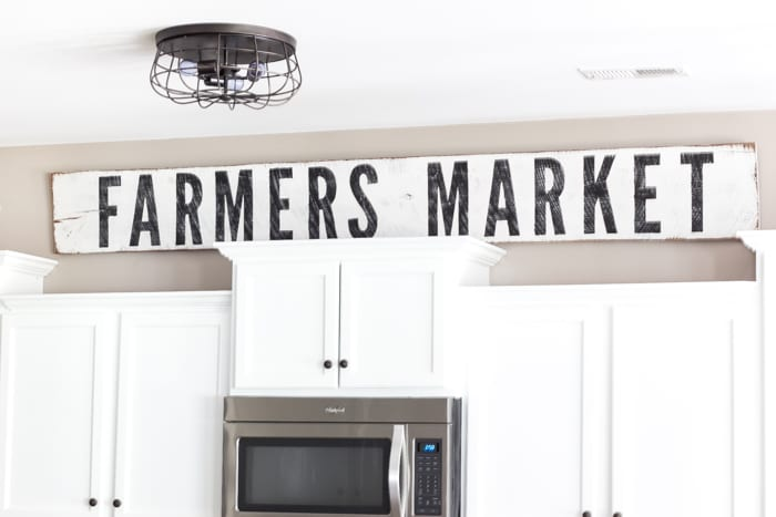 Remodelaholic How To Make Painted Farmhouse Signs The