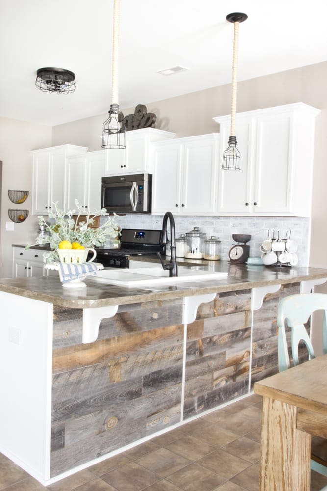Tips for a budget friendly kitchen makeover from cherished bliss planning a kitchen remodel these tips for a budget friendly kitchen makeover will help solutioingenieria Images