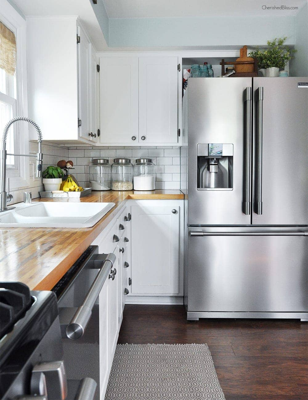 Tips For A Budget Friendly Kitchen Makeover From Cherished Bliss .