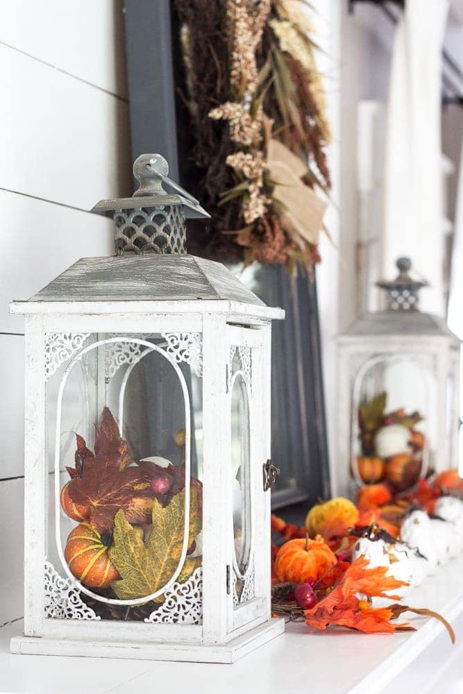 Harvest Living Room Decor and a Giveaway | blesserhouse.com - Simple decorating ideas using the Harvest home decor line from Kirkland's plus a giveaway to kick off Fall 2016.