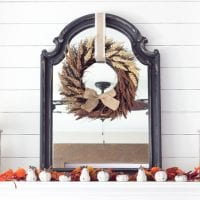 Harvest Living Room Decor and a Giveaway