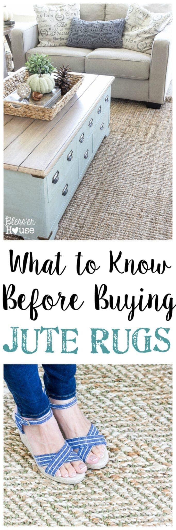 What To Know Before Buying Jute Rugs | Blesserhouse.com   A Totally Honest  Review