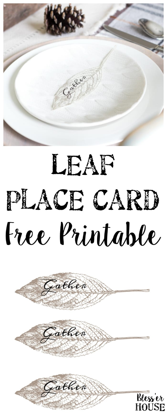 image regarding Gather Printable referred to as Get Leaf Level Card Printable - Blesser Dwelling