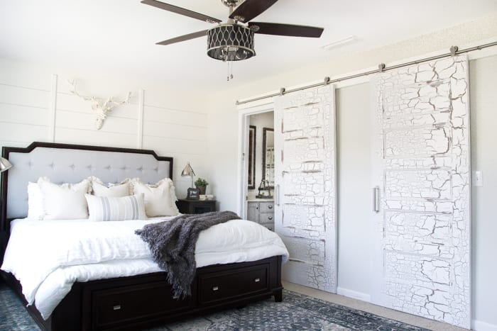 rustic modern master bedroom reveal and sources - bless'er house