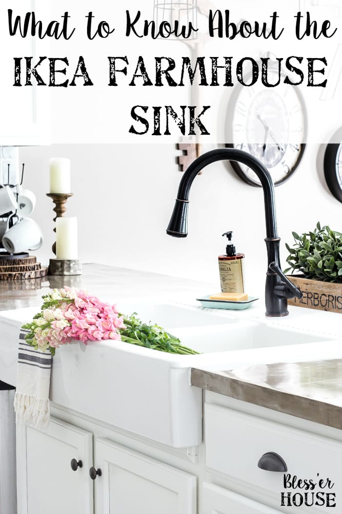 Charmant IKEA Farmhouse Sink Review | Blesserhouse.com   What To Know Before Buying  The Ikea