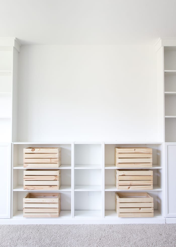 diy built ins from ikea billy bookcases one room challenge week 2 blesserhouse - Ikea Billy Bookshelves