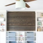 DIY Wood Planked Focal Wall (2 of 3)