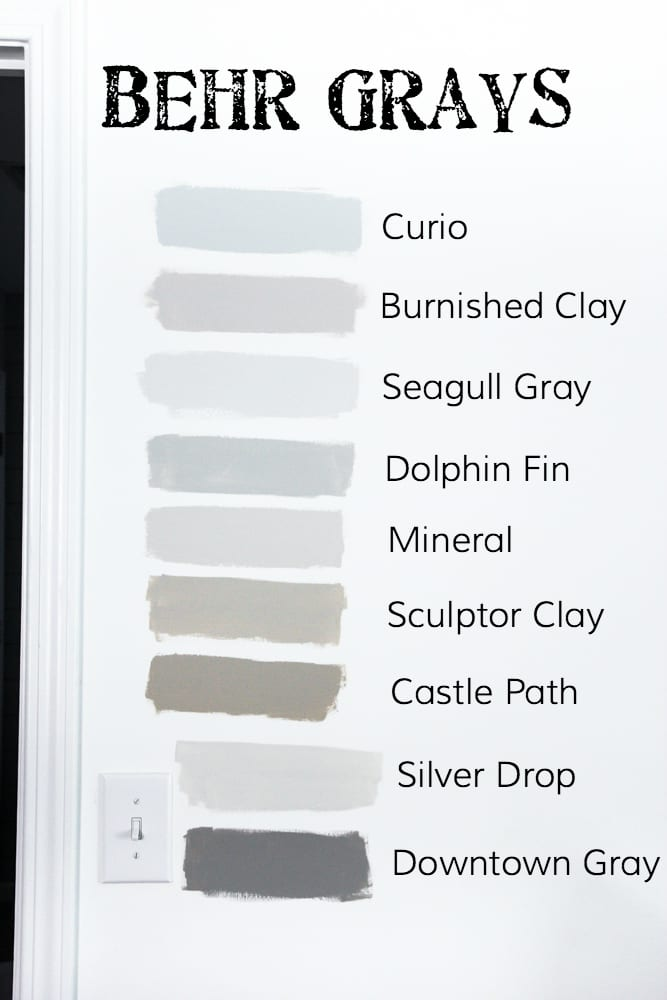 How To Choose The Perfect Gray Paint Blesserhouse Decide On