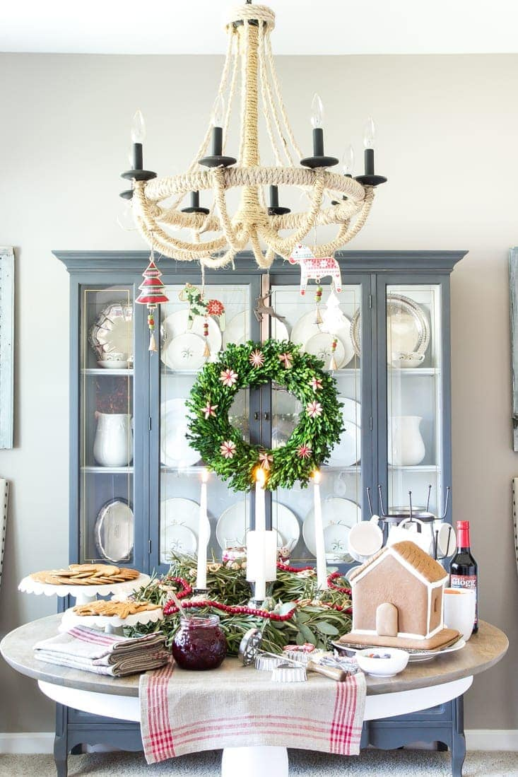 swedish st lucia inspired christmas table blesserhousecom how to put together a - Traditional Swedish Christmas Decorations