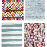 Colorful Playroom Rugs