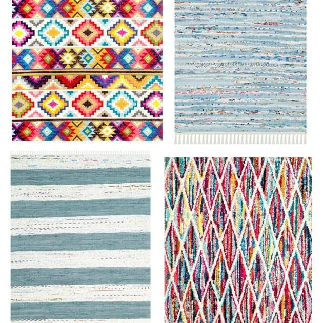 Colorful Playroom Rugs