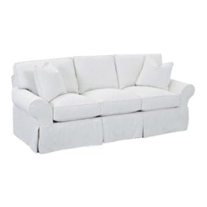 10 White Slipcovered Sofas on a Budget Blesser House