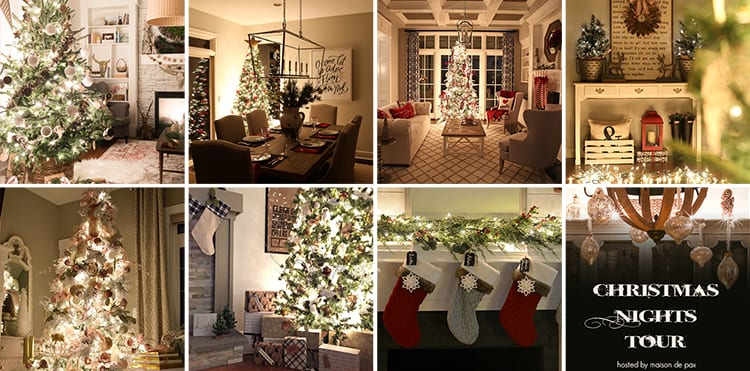 Christmas Nights Tour: Incredible! 35 beautiful homes all decorated for the holidays and lit up by candlelight and Christmas lights...