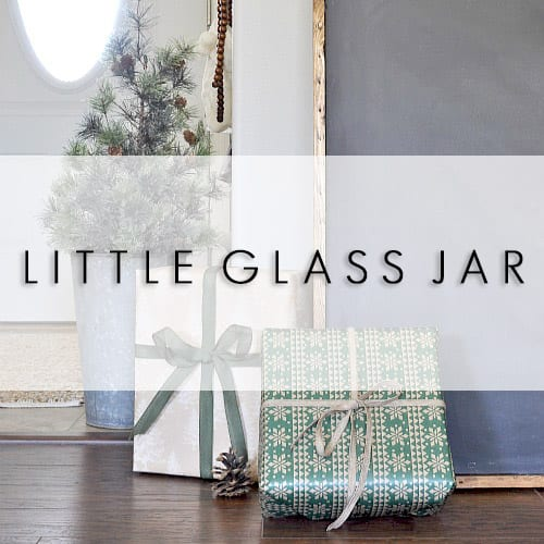 LITTLE GLASS JAR